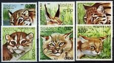 Cats Postage Asian Stamps