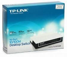 TPLINK 16-PORT 10/100M UNMANAGED DESKTOP NETWORK SWITCH