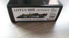 MODEL Factory Hiro LOTUS 88B KIT MODELLO 1/20