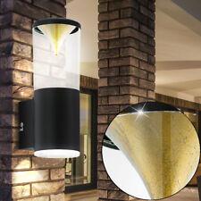LED UP DOWN Außen Leuchte GOLD SCHWARZ Fassaden Wand Beleuchtung Terrassen Lampe