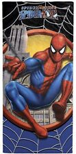 "Spiderman Cotton 28 ""X 58"" Beach Towel"