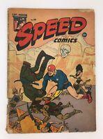 Speed Comics #39 Captain Freedom And Black Cat - 1945 (Volume 1, Issue 39)
