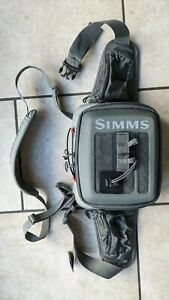 Simms neck/hip/waist pack River fly fishing storage bag Trout Salmon RRP £139