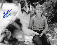 Jon Provost Lassie Original Autographed 8X10 photo #19