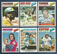 1977 TOPPS EXPOS GARY CARTER  CARD #295