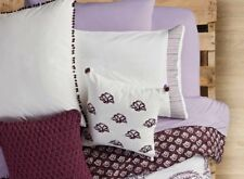 Anthology Arianna Euro Sham New 100% Cotton Set Of 2 Pillow Sham