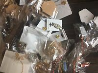 Lot of 30 Mixed Grab Bag Jewelry Womens Necklace Pendants Bracelets Huge Crystal