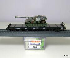 Roco N 925 - Pianale a 6 assi Samms delle DB con corazzato M109 livrea NATO