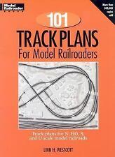 101 TRACK PLANS FOR MODEL RAILROADERS - LINN WESTCOTT (PAPERBACK) NEW