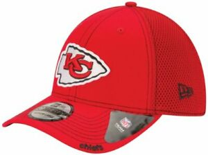 New Era NFL Neo 39THIRTY Stretch Fit Cap, Red