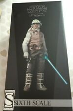 Sideshow/Hot Toys Collectibles Luke Skywalker Hoth Commander, #21591, RARE.