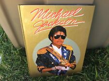 1984 Michael Jackson Hardcover Book Gallery Books UK Edition C1