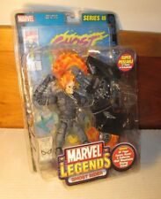 "2002 Marvel Legends Series III MOC 6"" Ghost Rider Action Figure ToyBiz"