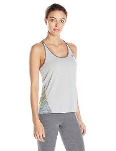 ASICS Women's Layering Tank Top, Midgrey, Size Large