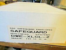 500? Safeguard Business Double Window Envelopes Dwe-Xlcl-2