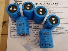 6PCS 180uf 500v 105c Snap-In Capacitors NEW & Resistors For FL-2100 Amps