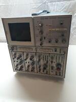 Tektronix 7834  Analog Oscilloscope Storage Mainframe + 4 modules -- q