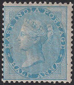 India 1856 QV ½a Pale Blue Mint SG38 cat £110