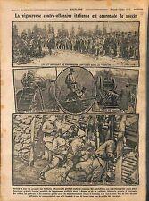 Trench Battle of Trentino-Alto Adige/Südtirol Soldiers Italia Italy  1916 WWI
