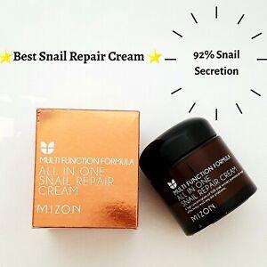 ORIGINAL Mizon All-In-One Snail Repair Face Cream with 92% snail secretion-75ml