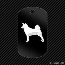 Canaan Keychain Gi dog tag engraved many colors dog canine pet
