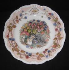 "Royal Doulton, Brambly Hedge - ""Autumn"" 8"" salad plate"