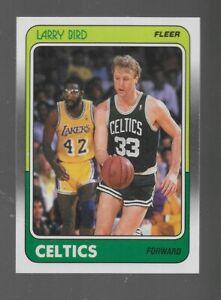 1988-89 FLEER # 9 LARRY BIRD NICE CARD
