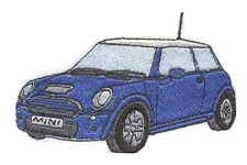 BMW Mini Cooper Embroidered & Personalised Sweat Shirt
