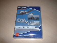 ✈️ CLEAR FOR LANDING ~ FLIGHT SIMULATOR X FS2004 FSX ADD-ON NEW SEALED