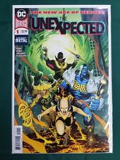THE UNEXPECTED 1 Sook Orlando Nord Metal DC Comics 2018