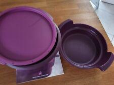 Tupperware 101° Micro Gourmet Dampfgarer für Mikrowelle Lila *Neuwertig*