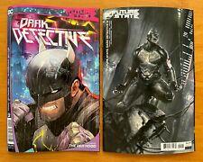 New ListingFuture State Dark Detective 2 Main Cover A + Dell Otto Variant 1st Print Nm