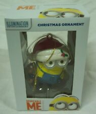 Despicable Me DAVE MINION w/ TEDDY BEAR CHRISTMAS TREE ORNAMENT NEW