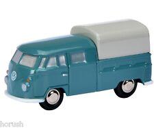 Schuco Piccolo VW T1 Doppelkabine blau 450557000