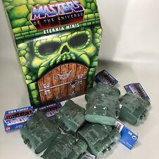 NEW Masters Of The Universe MOTU Eternia Mini Figure Castle Grayskull SET Of 7