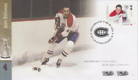 CANADA 2017 NHL HOCKEY LEGENDS -  JEAN BELIVEAU FIRST DAY COVER