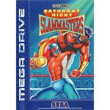 Saturday Night Slam Masters For Sega Genesis Vintage Game Only