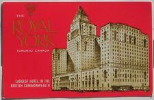 The Royal York hotel , Toronto Canada. Postcard A761