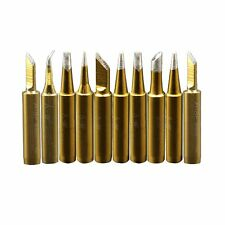 A-BF 10pcs 900M Soldering Iron Tips for Hakko, Radio Shack, TENMA,ATTEN, QUICK,
