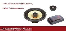 Audio System Radion 165 FL 165 mm, 2-Wege Flat Composystem zum Sonderpreis