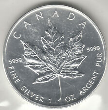 Currency Canada 5 Dollars 2007 Silver Proof - Fine Silver 1 Oz. 9999