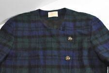Vintage Pendleton Plaid Womens wool coat size L