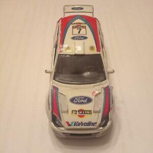 Ford Focus Martini Burago scala 1:43. Usata, integra, segni di usura