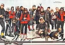 Publicité 2012  (Double Page)  TOMMY HILFIGER collection pret à porter mode