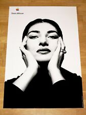 APPLE THINK DIFFERENT POSTER - MARIA CALLAS / 24 x 36 by STEVE JOBS 61 x 91cm