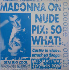 """ANDY WARHOL ART COVER MADONNA : CICCONE YOUTH 1986 12"""""""