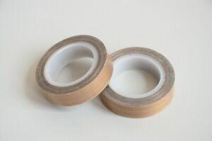 "1/2""x33ft Teflon Tape PTFE 180um Thicker 70-260°C Adhesive High-Temp Fiberglass"