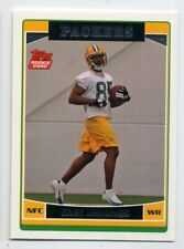 2006 Topps GREG JENNINGS Real Logo ROOKIE CARD RC #369 Green Bay Packers