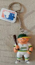 Oakland Athletics As Keychain Key Chain Lil Sports Brat 3D Batter