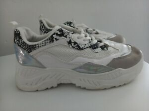 Ladies Size 7 Chunky Trainers